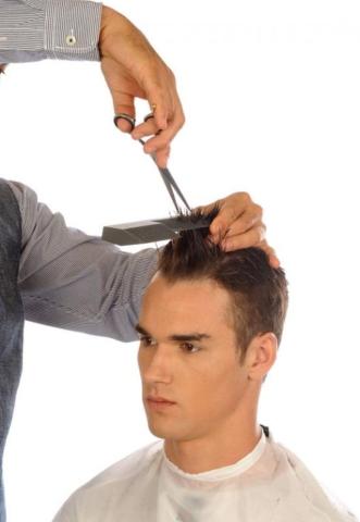 Dentado sobre peine Preciscut extra Large, sección 2 (triangular). Tecnica de corte tijera sobre peine Preciscut